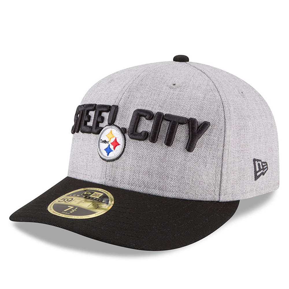 7bb90d9223e Pittsburgh Steelers 2018 NFL On-Stage Draft Low Profile 59FIFTY ...
