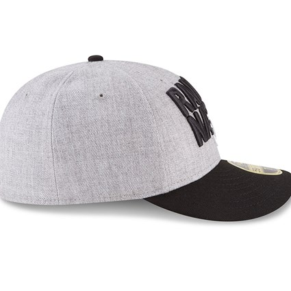 best service 38e94 b0dff ... Oakland Raiders 2018 NFL On-Stage Draft Low Profile 59FIFTY