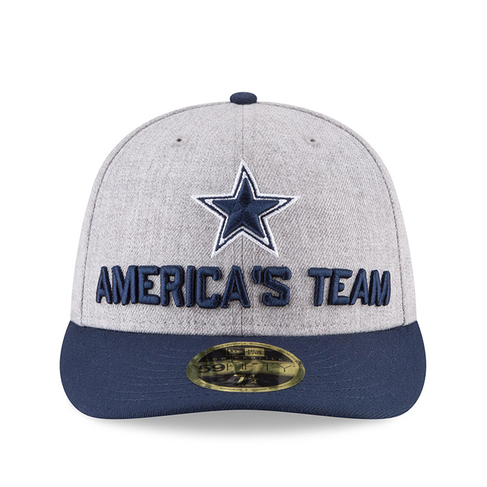 ... Dallas Cowboys 2018 NFL On-Stage Draft Low Profile 59FIFTY 8dc051d70e3b