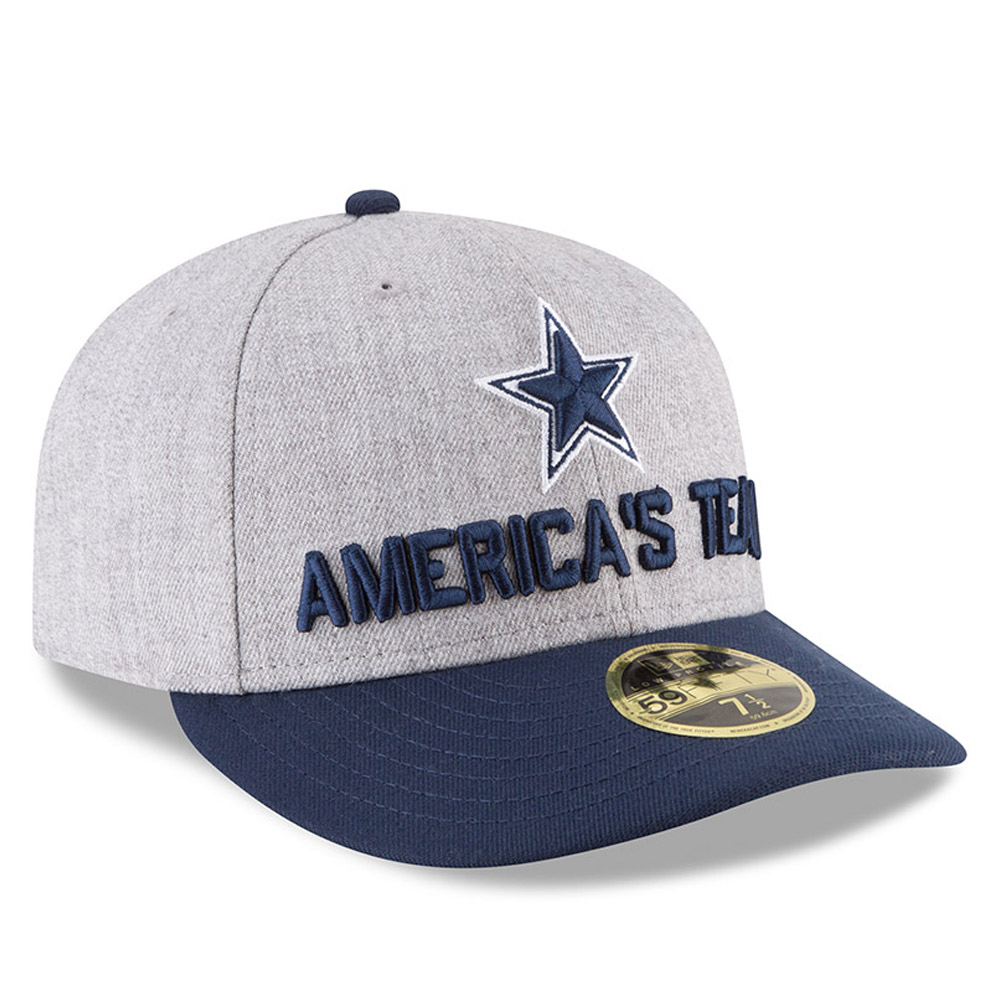 20170873ece ... Dallas Cowboys 2018 NFL On-Stage Draft Low Profile 59FIFTY