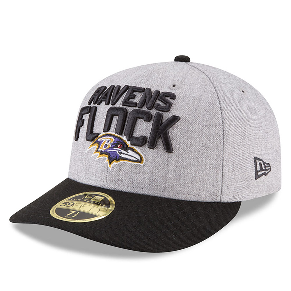 bdedf3fe70f Baltimore Ravens 2018 NFL On-Stage Draft Low Profile 59FIFTY