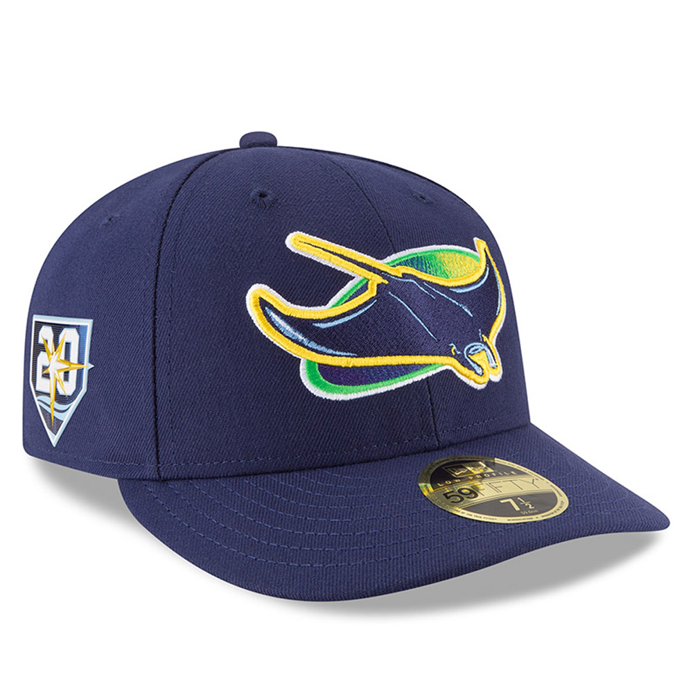 Tampa Bay Rays Anniversary Side Patch Low Profile 59FIFTY