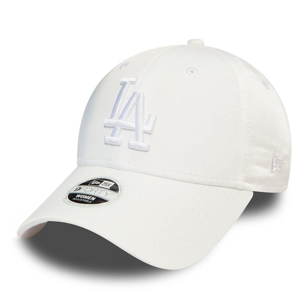 Los Angeles Dodgers  Womens Satin White 9FORTY