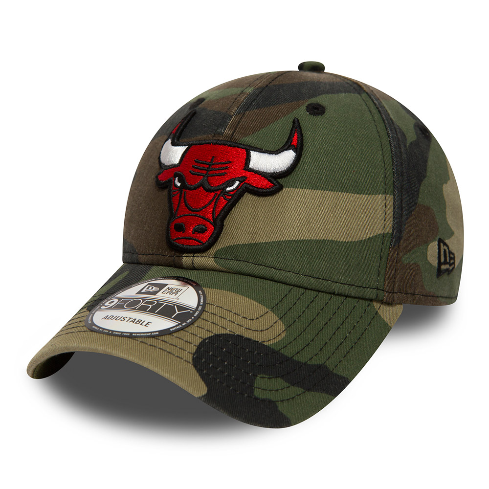 Chicago Bulls Washed Camo 9FORTY