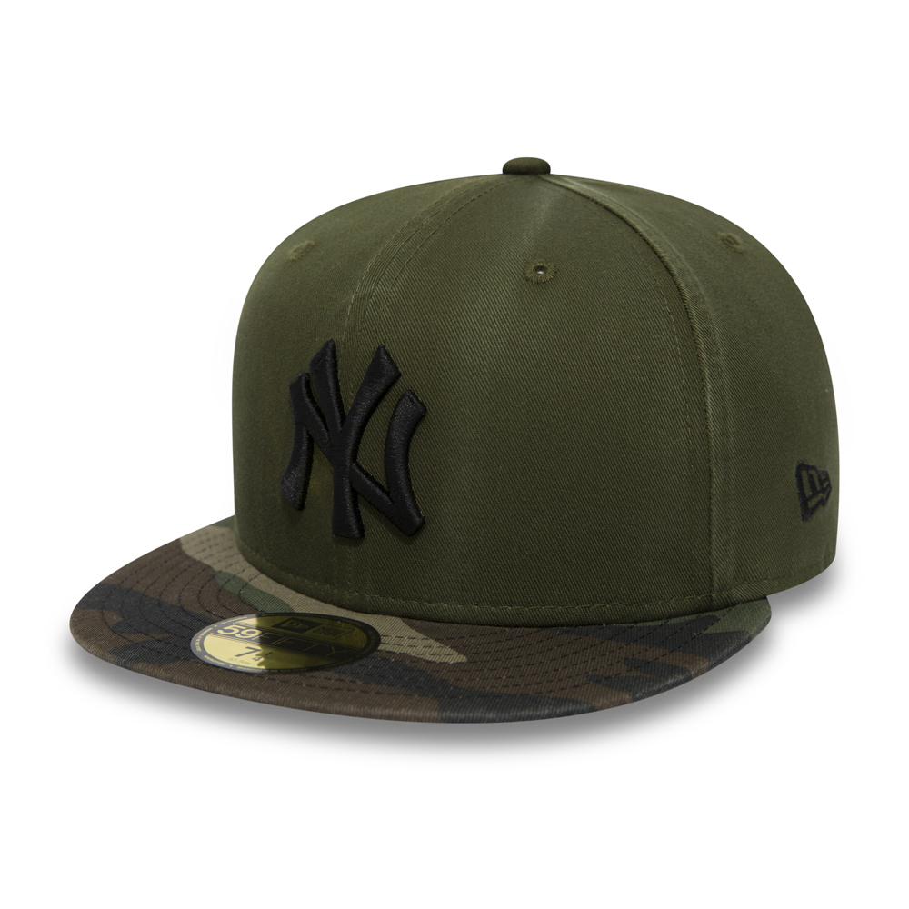 New York Yankees Washed Camo 59FIFTY
