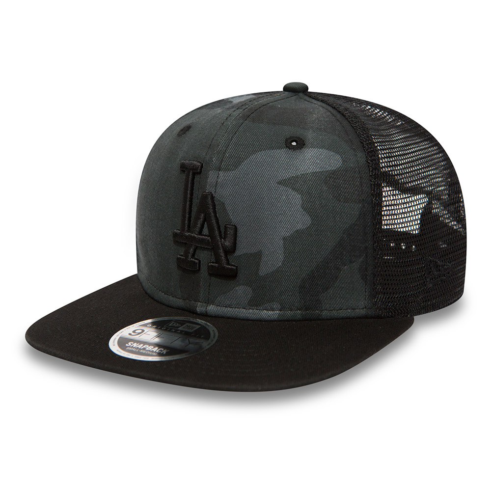 Los Angeles Dodgers Washed Camo 9FIFTY Trucker