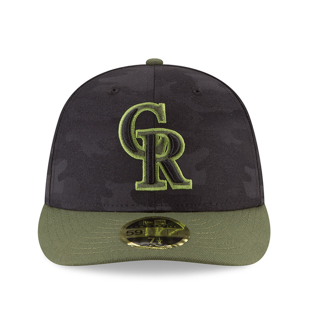 buy popular ae46f 51d94 ... netherlands colorado rockies 2018 memorial day low profile 59fifty  21a81 a31ce