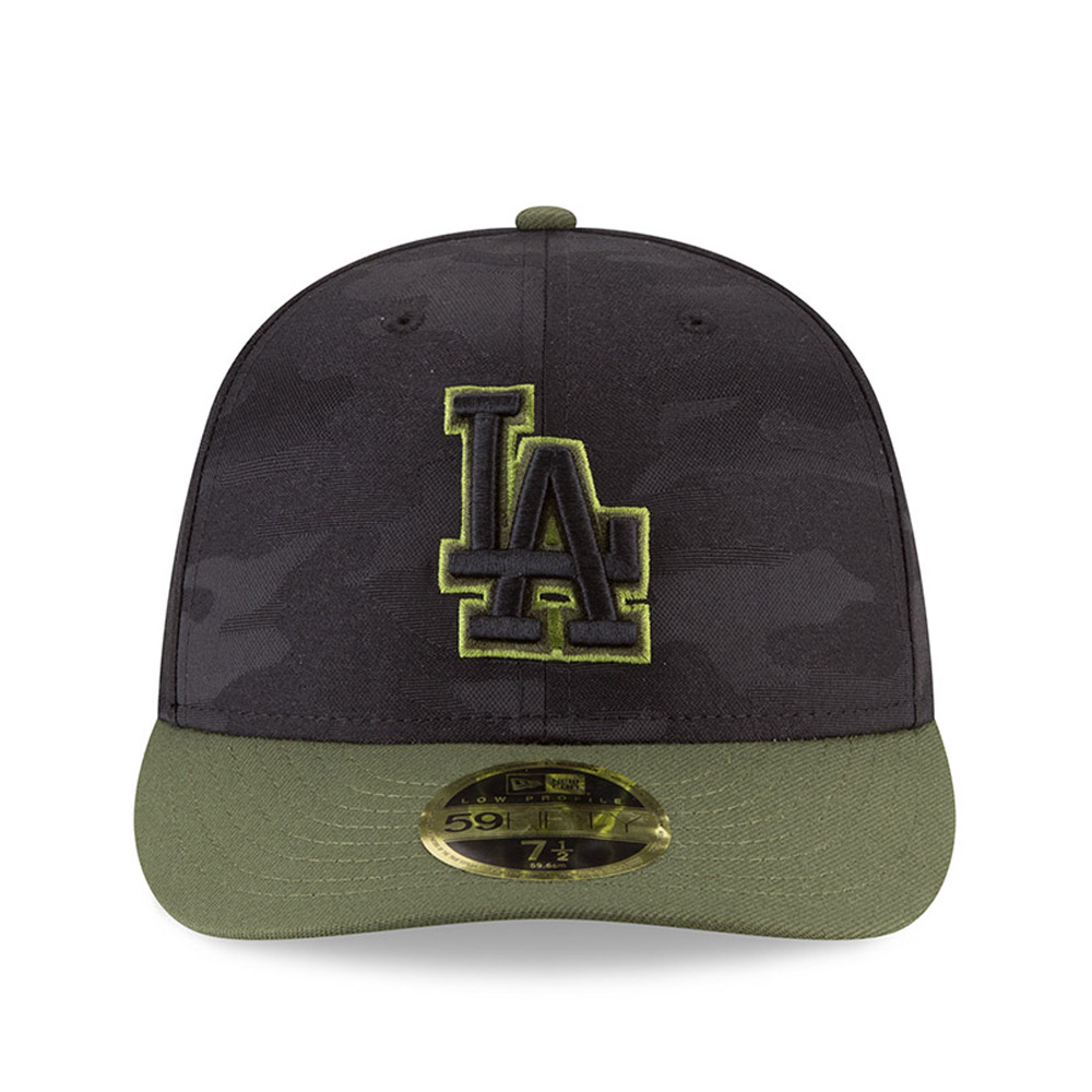 ... Los Angeles Dodgers 2018 Memorial Day Low Profile 59FIFTY 0c27bafe03ae