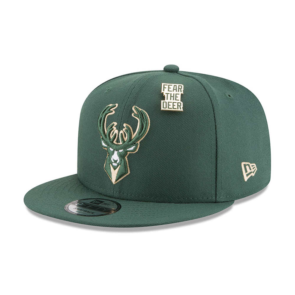 finest selection 3a2b3 53a00 ... Milwaukee Bucks 2018 NBA Draft 9FIFTY Snapback
