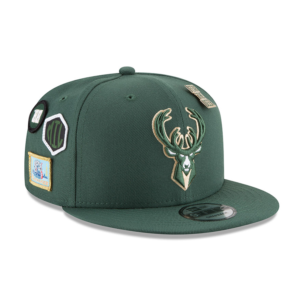more photos 26a11 cc1e8 Milwaukee Bucks 2018 NBA Draft 9FIFTY Snapback   New Era