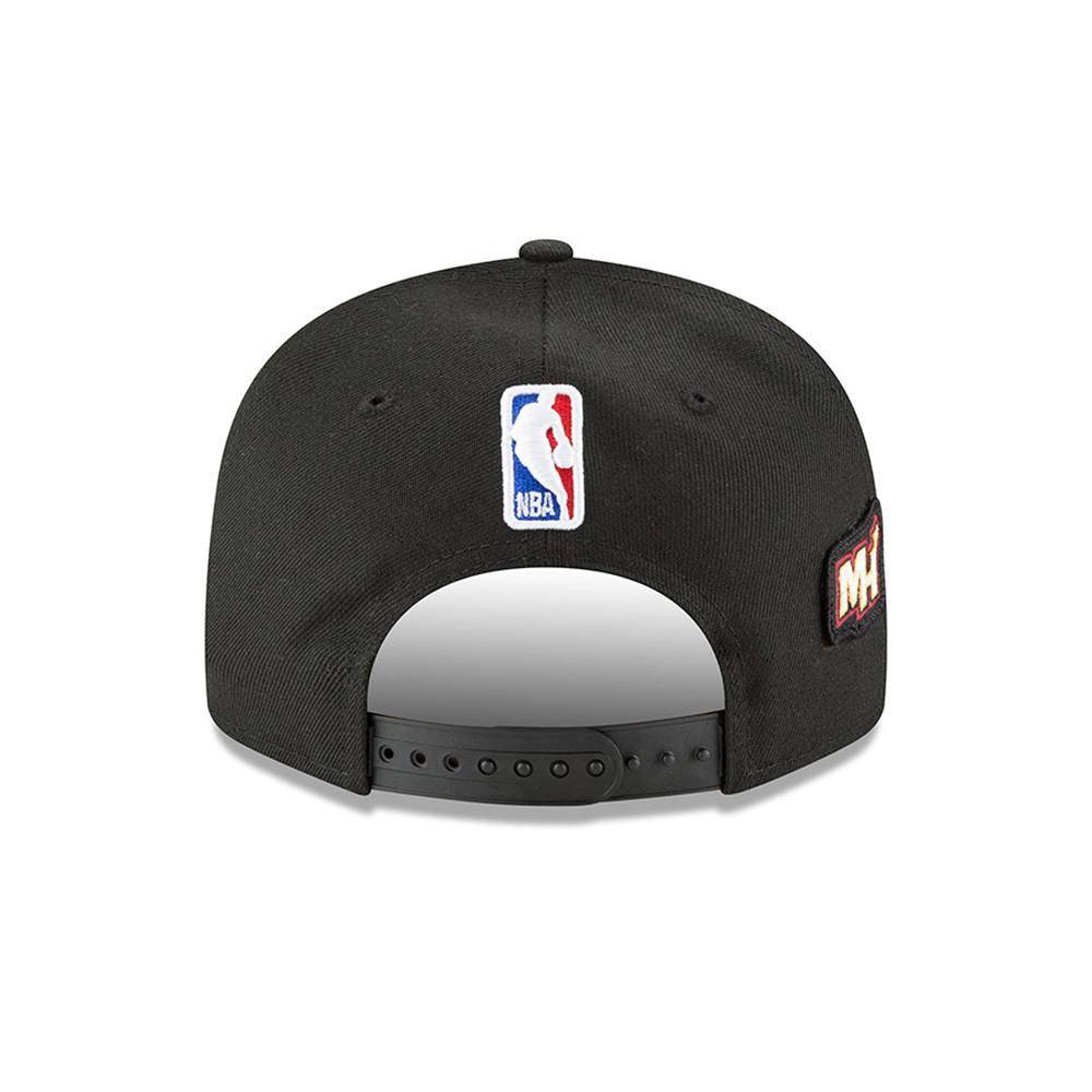 cheap for discount b1f54 98c60 ... Miami Heat 2018 NBA Draft 9FIFTY Snapback