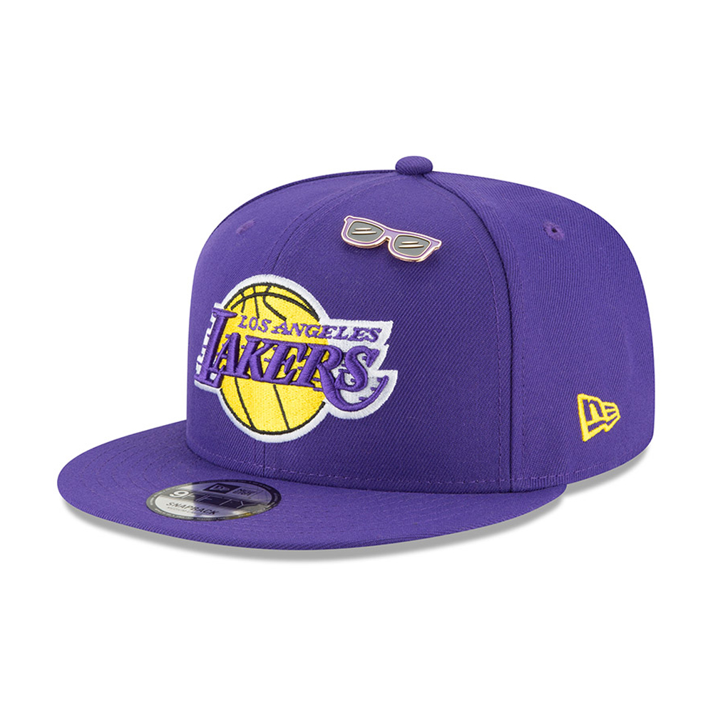 43f698393d132 Los Angeles Lakers 2018 NBA Draft 9FIFTY Snapback
