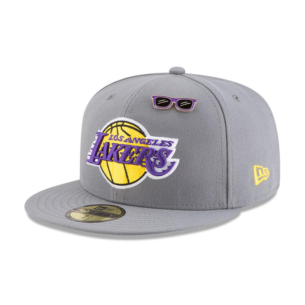 ... Los Angeles Lakers 2018 NBA Draft 59FIFTY ca5ed4e531a