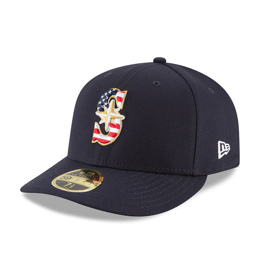 Seattle Mariners 4th of July 2018 Low Profile 59FIFTY