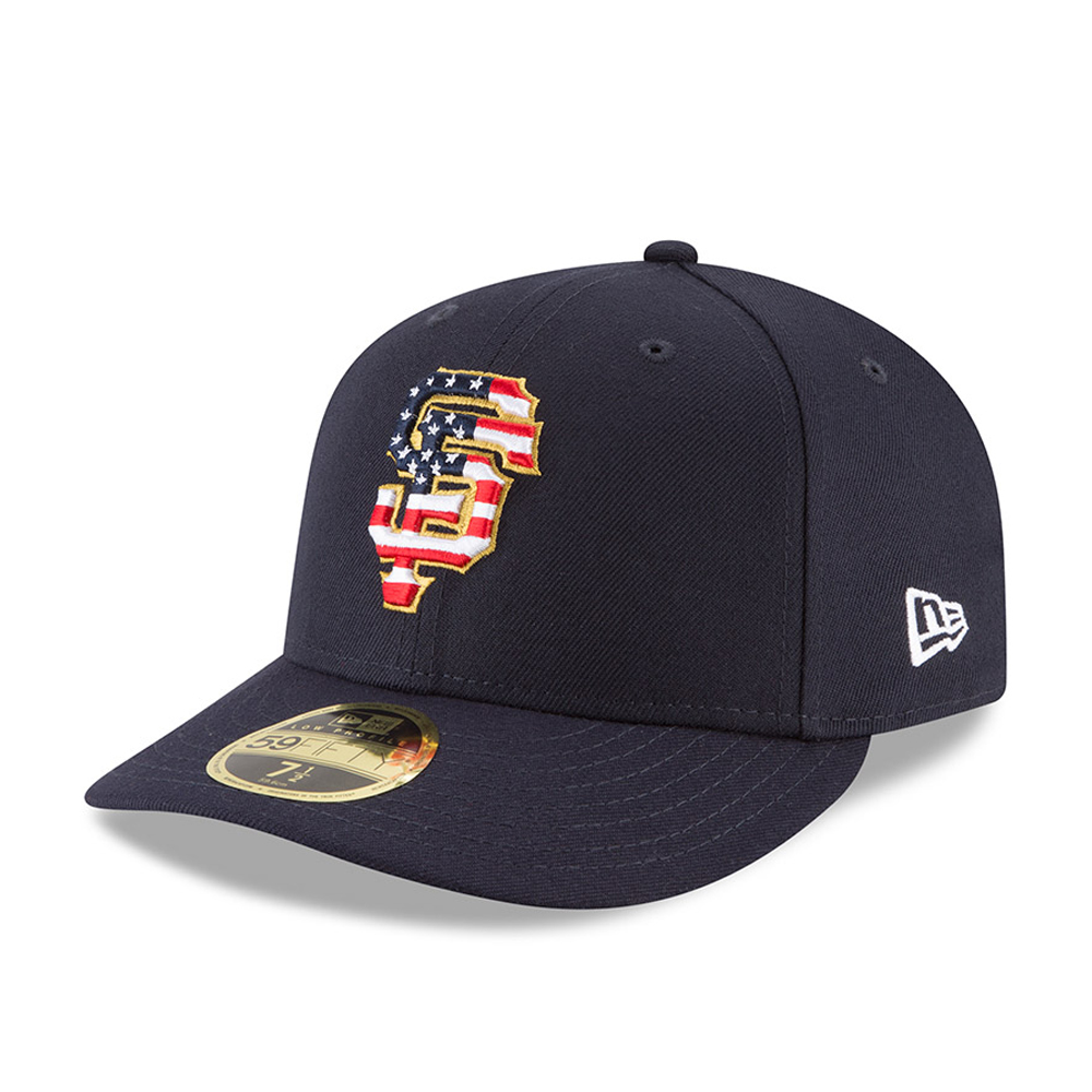 San Francsico Giants 4th of July 2018 Low Profile 59FIFTY