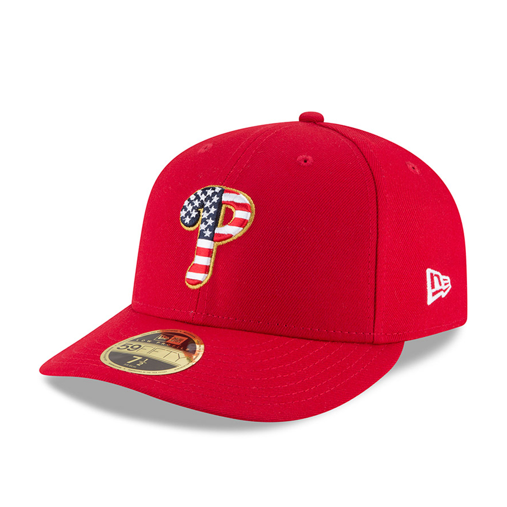 Philadelphia Phillies 4th of July 2018 Low Profile 59FIFTY