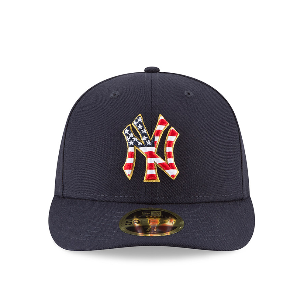 0eba9f0528b ... real new york yankees 4th of july 2018 low profile 59fifty fee81 5d2c8