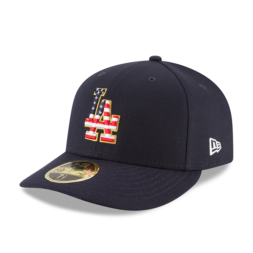 Los Angeles Dodgers 4th of July 2018 Low Profile 59FIFTY