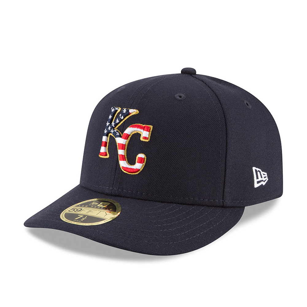 Kansas City Royals 4th of July 2018 Low Profile 59FIFTY