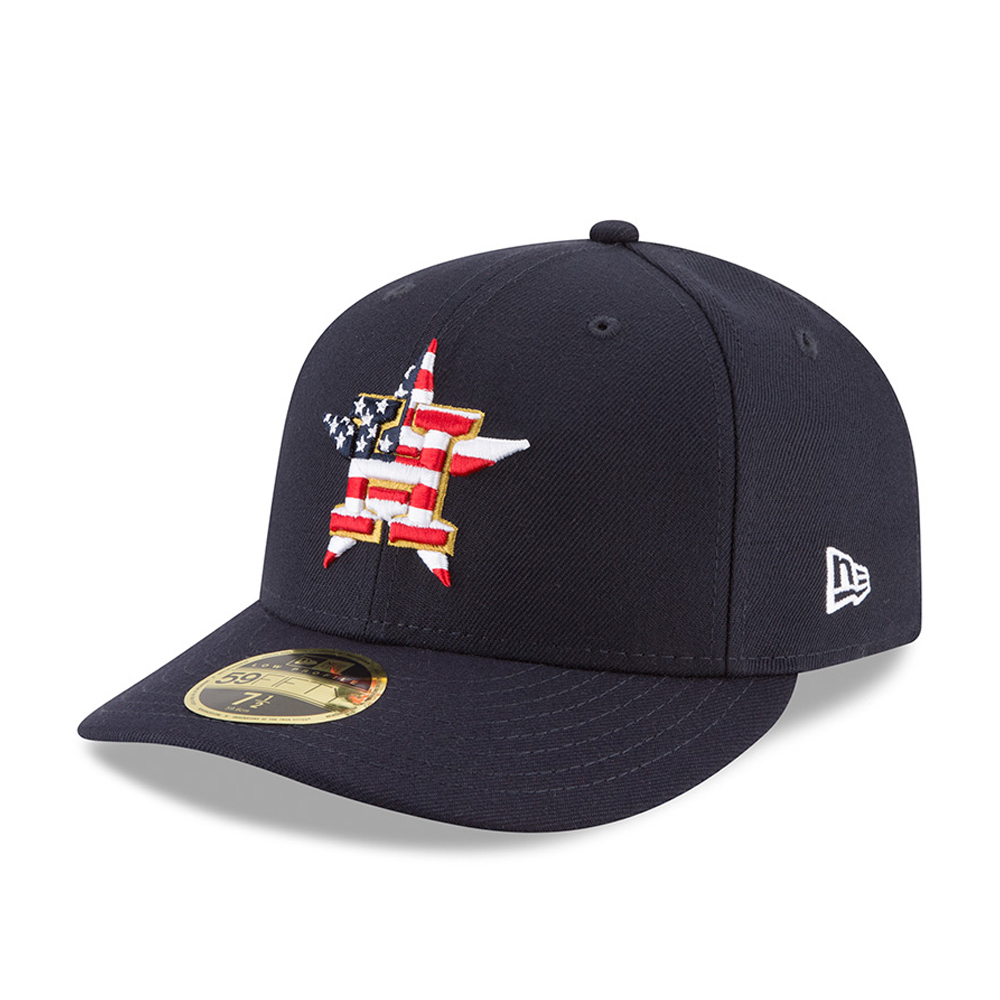Houston Astros 4th of July 2018 Low Profile 59FIFTY