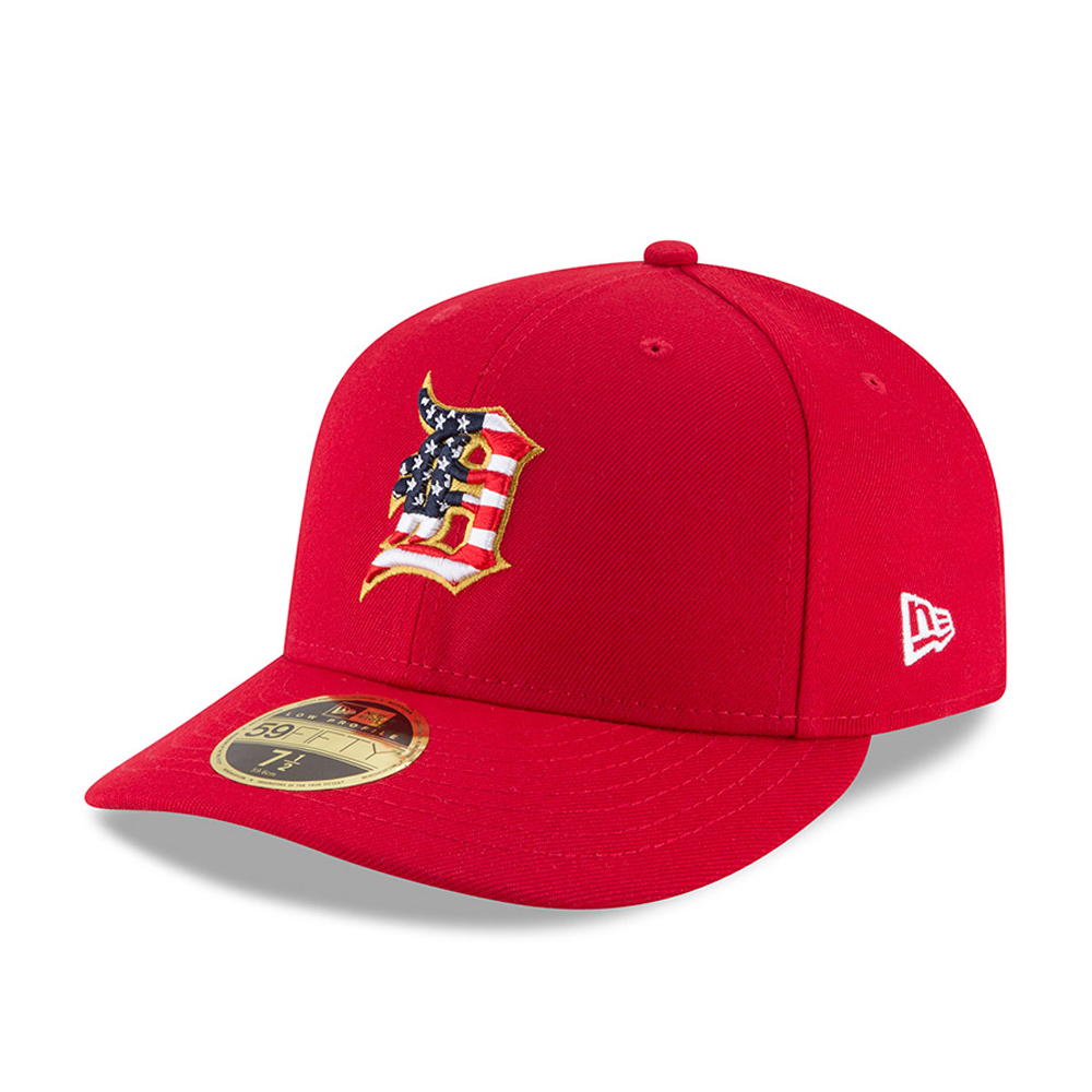 Detroit Tigers 4th of July 2018 Low Profile 59FIFTY
