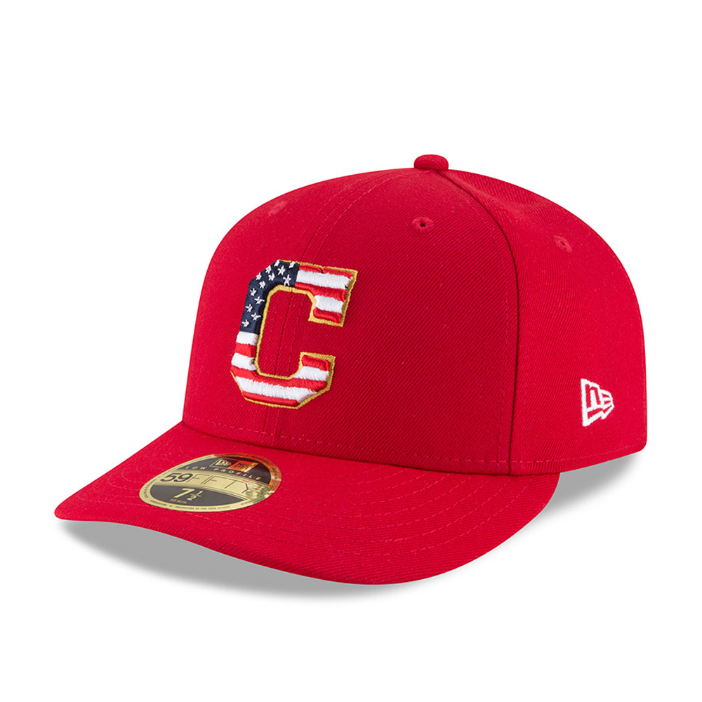 Cleveland Indians 4th of July 2018 Low Profile 59FIFTY
