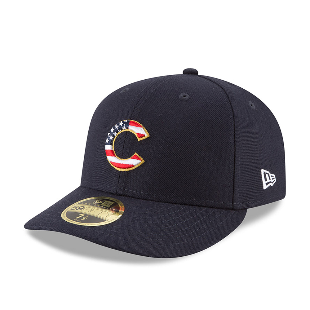 Chicago Cubs 4th of July 2018 Low Profile 59FIFTY