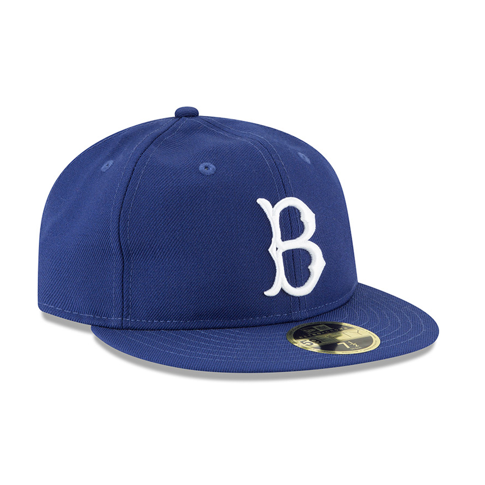 release date d216e 2725d New Era Brooklyn Dodgers 59fifty Fitted Hat