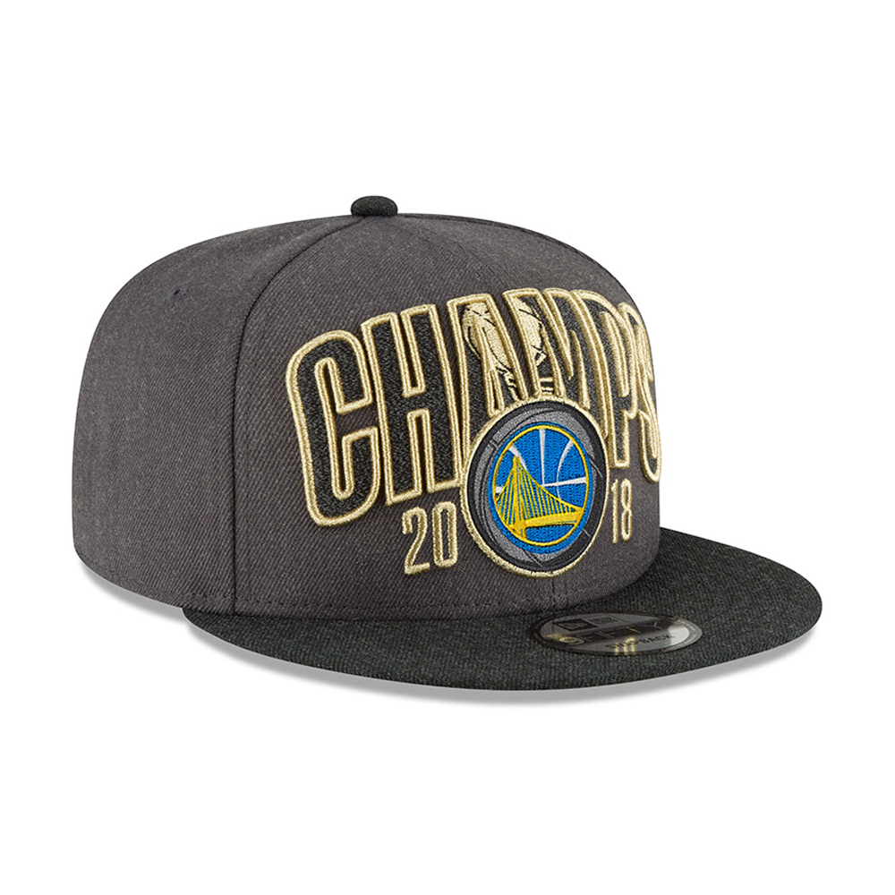 669ec0e24dd Golden State Warriors 2018 NBA Champions 9FIFTY Snapback
