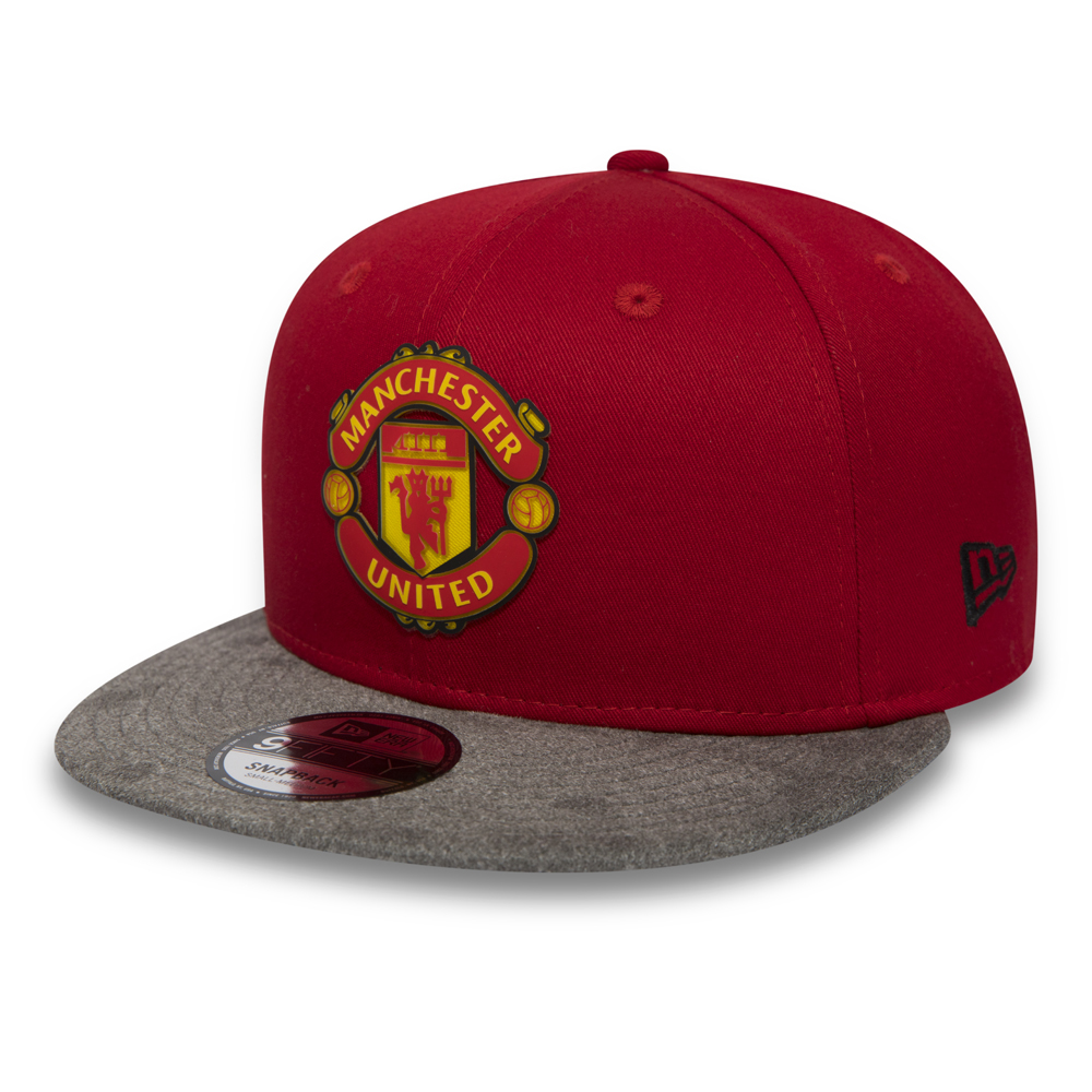 781a7a8da16 Manchester United Suede Vize 9FIFTY Snapback