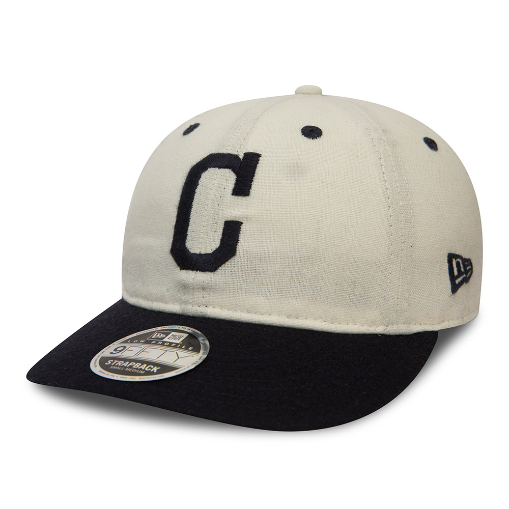 Cleveland Indians Low Profile 9FIFTY Strapback  3991eee7747