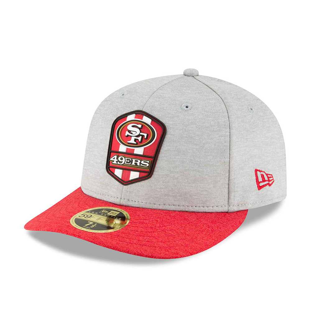 8acb356a0fa ... San Francisco 49ers 2018 Sideline Away Low Profile 59FIFTY