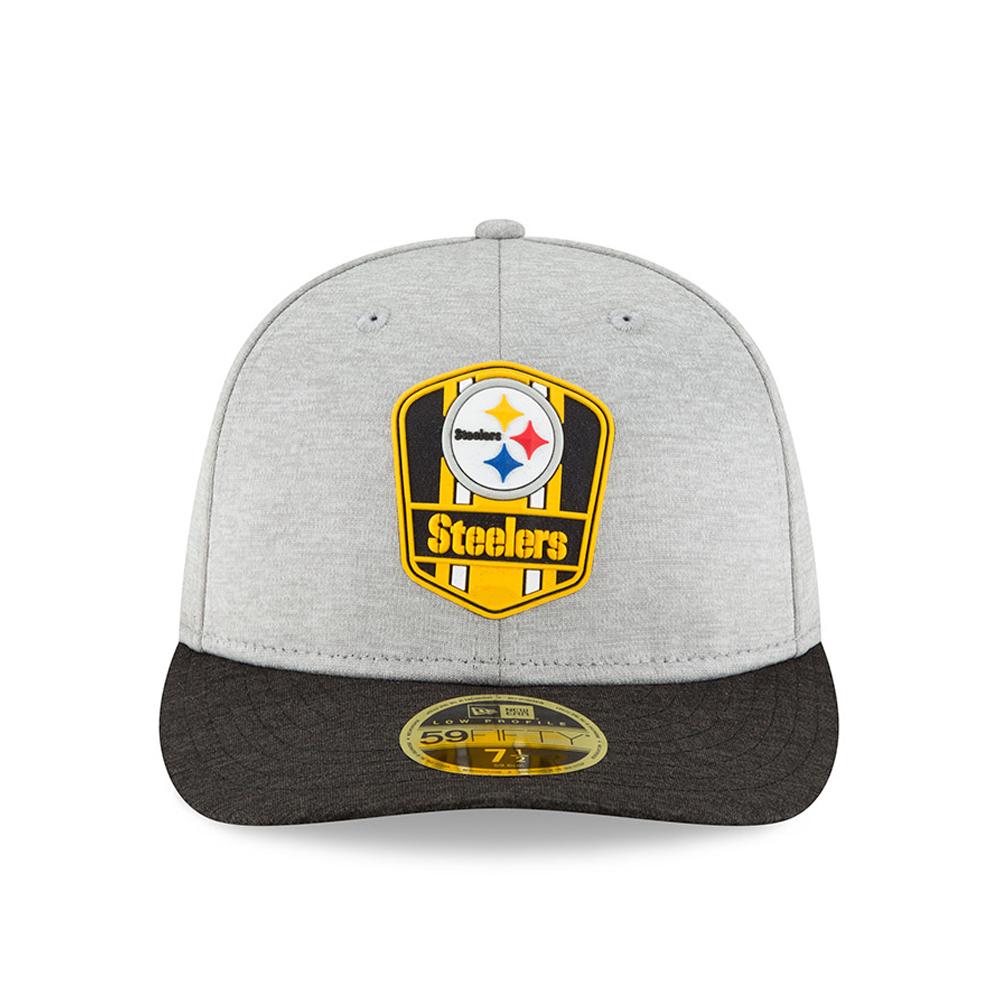 Sideline Away Pittsburgh Steelers New Era 59Fifty Cap