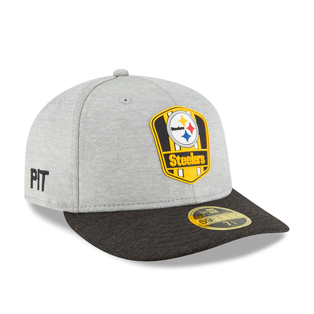 5a8f5754a4682 ... Pittsburgh Steelers 2018 Sideline Away Low Profile 59FIFTY