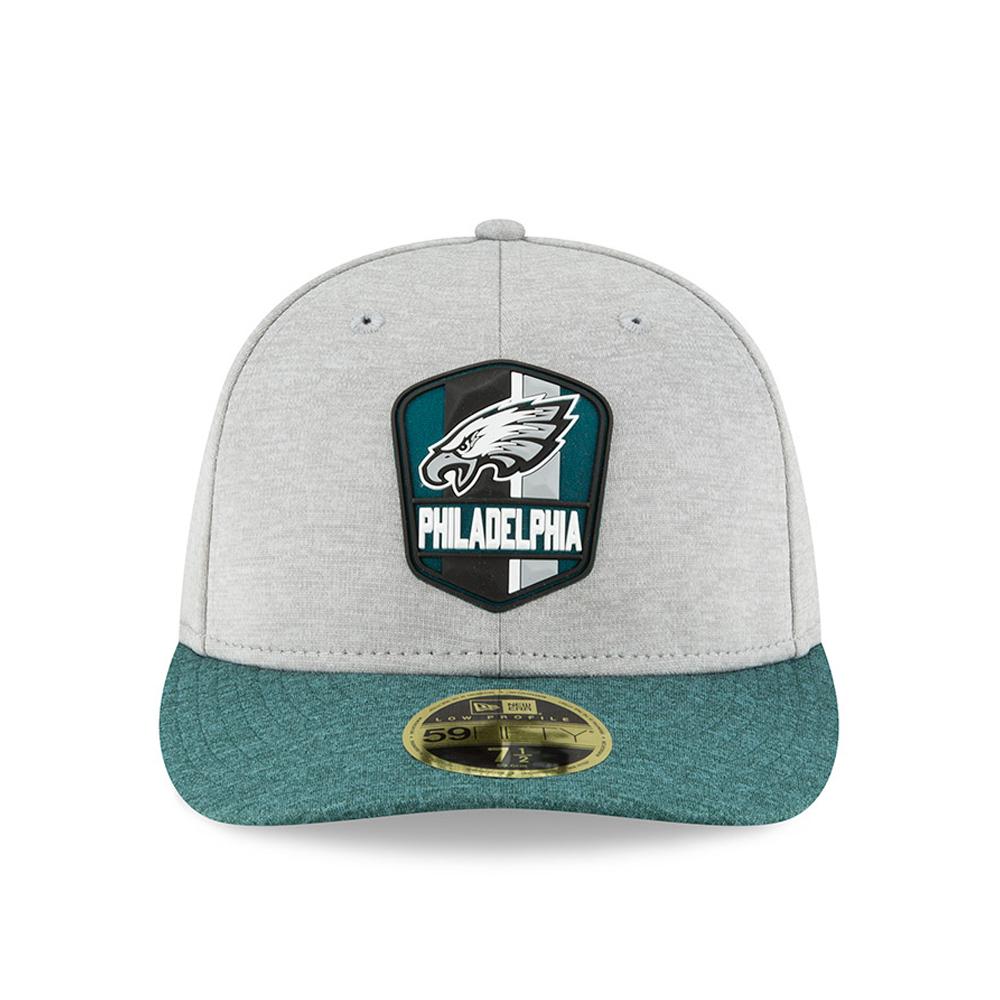 4e3e1830cae Philadelphia Eagles 2018 Sideline Away Low Profile 59FIFTY
