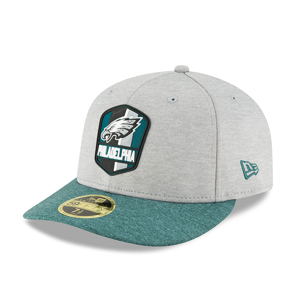 9af38b881f9 Philadelphia Eagles 2018 Sideline Away Low Profile 59FIFTY