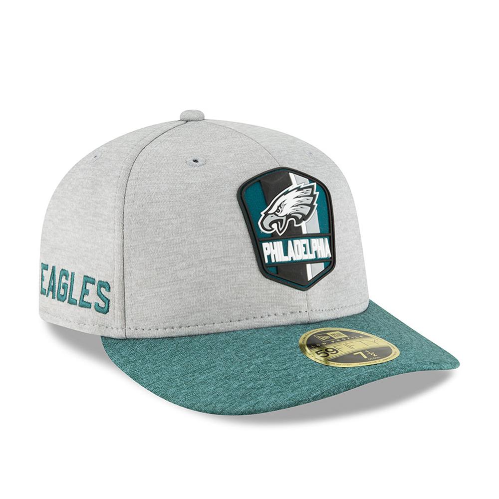 New Era Cap Co Shadow Tech 5950 Fitted Cap Philadelphia Eagles