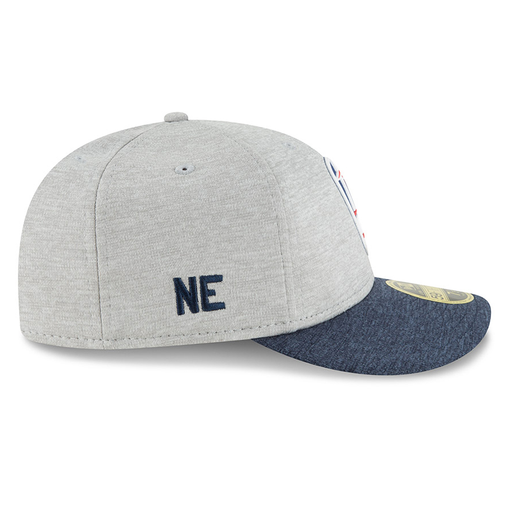 ... New England Patriots 2018 Sideline Away Low Profile 59FIFTY 77e919bf8c8