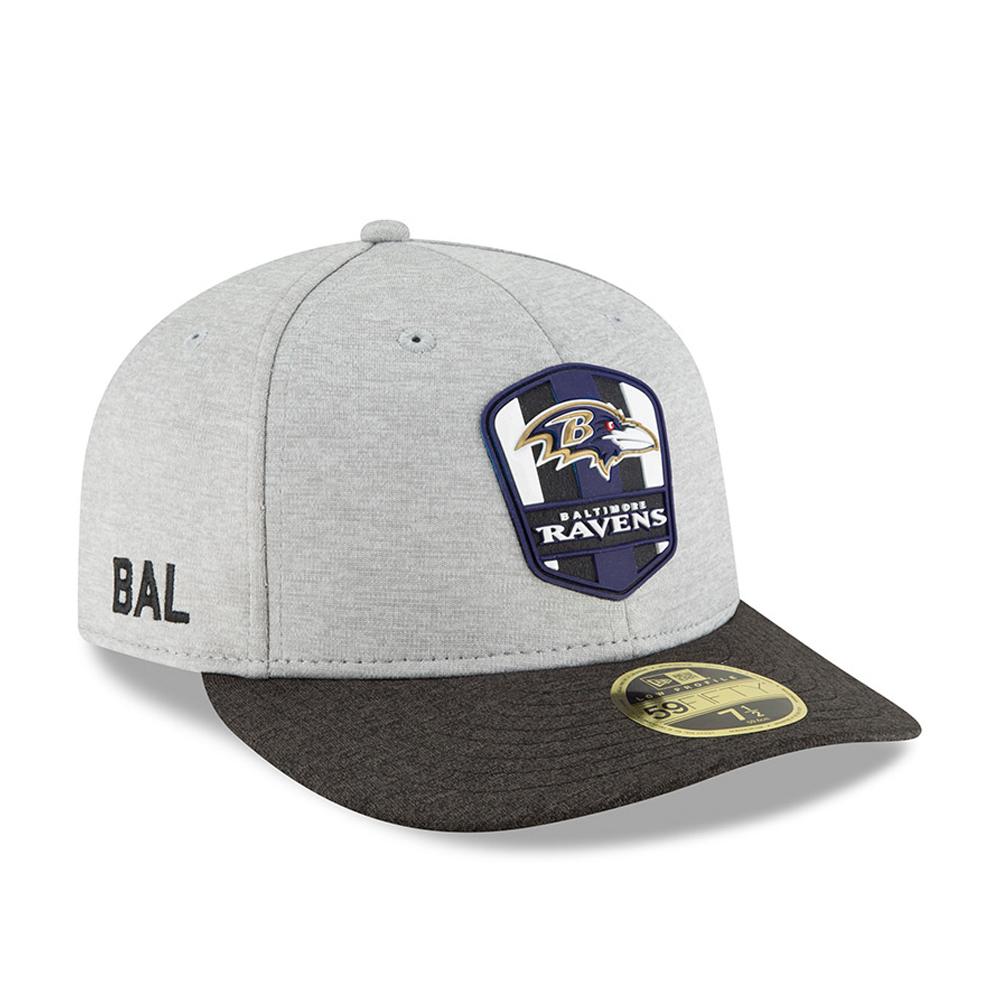 e2f2b7b15b7 Baltimore Ravens 2018 Sideline Away Low Profile 59FIFTY