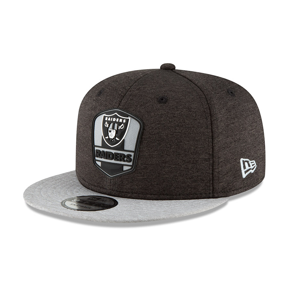 Oakland Raiders 2018 Sideline Away 9FIFTY Snapback  aa491ec3e679