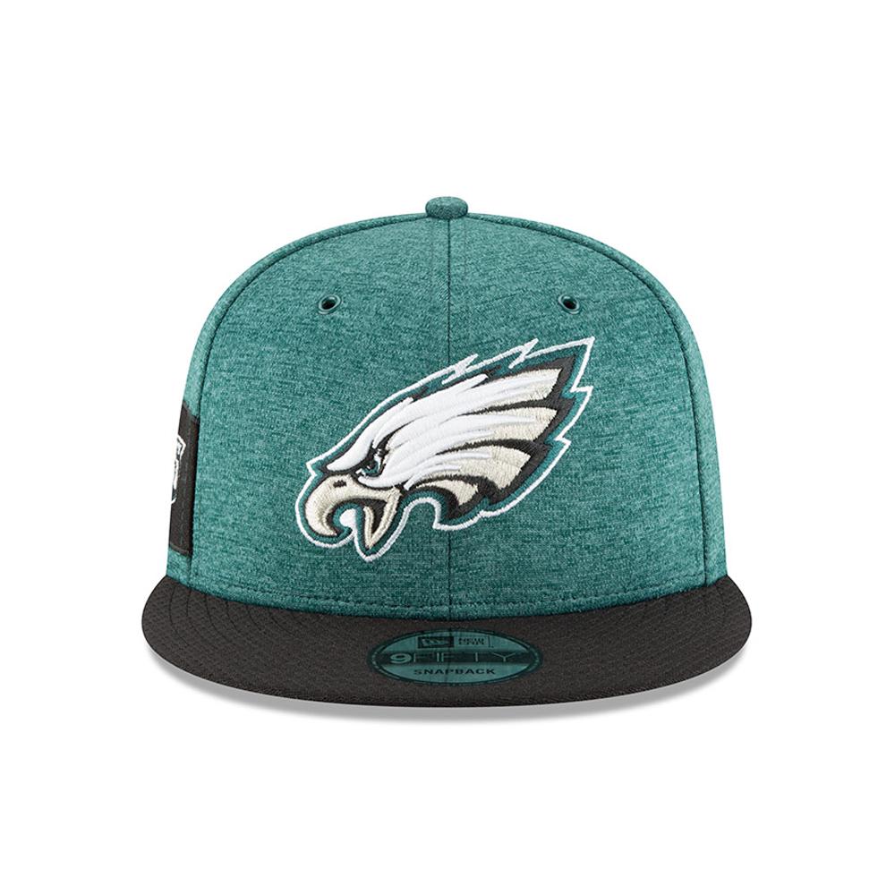 Philadelphia Eagles 2018 Sideline Home 9FIFTY Snapback Philadelphia Eagles  2018 Sideline Home 9FIFTY Snapback 840147b7b