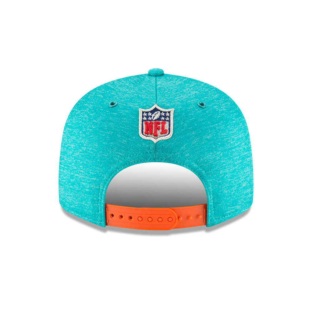premium selection a3354 6e887 Miami Dolphins 2018 Sideline Home 9FIFTY Snapback