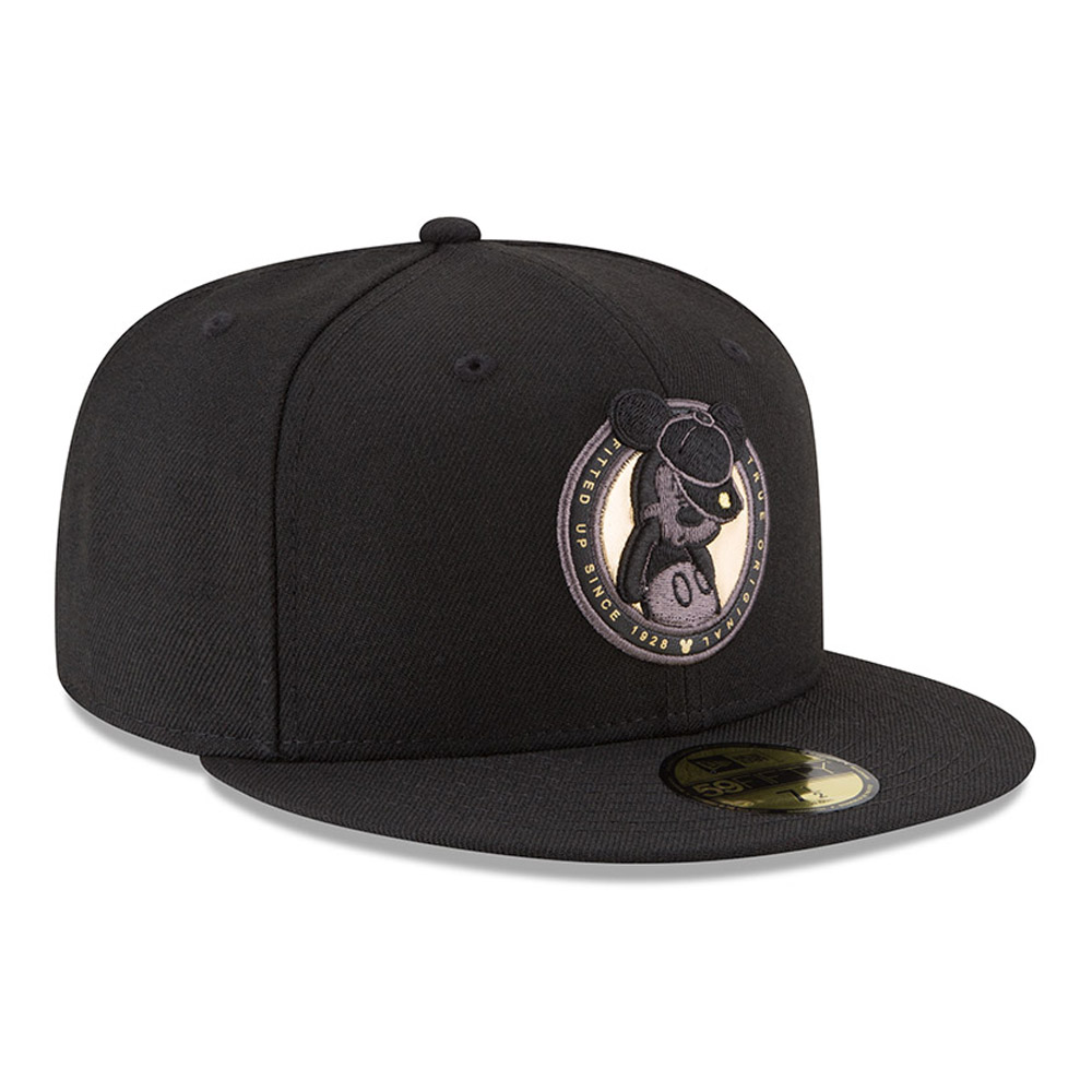 Mickey Mouse Logo Black 59FIFTY Mickey Mouse Logo Black 59FIFTY 02dc8a27f5a