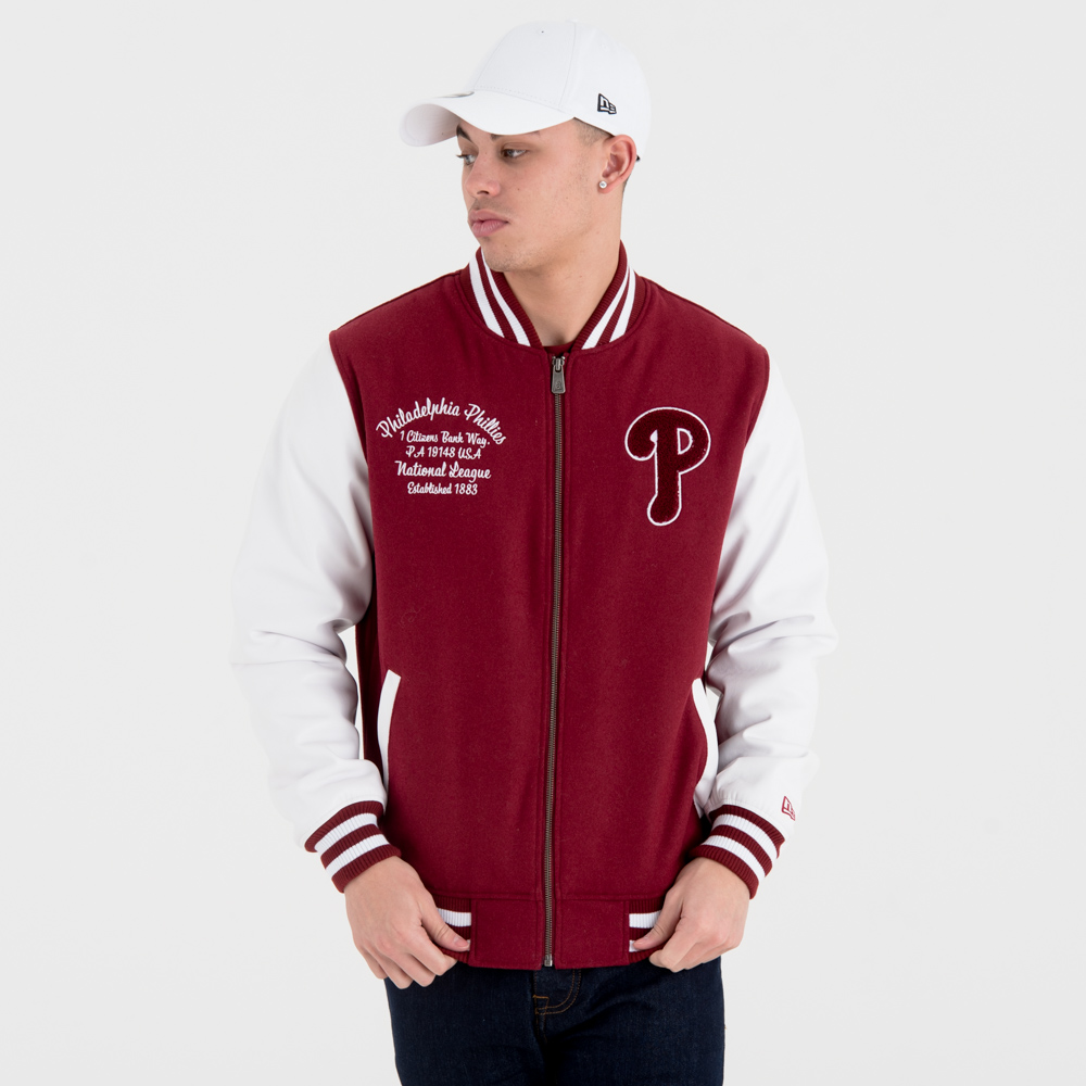 Philadelphia Phillies University Club Varsity Jacket