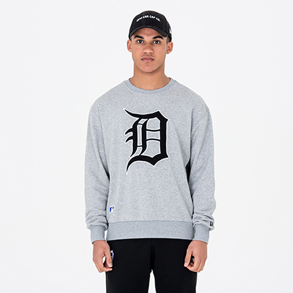 Detroit Tigers University Club Grey Crew Neck
