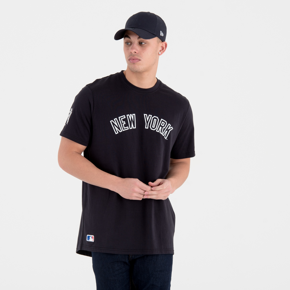 New York Yankees University Club Wordmark Tee