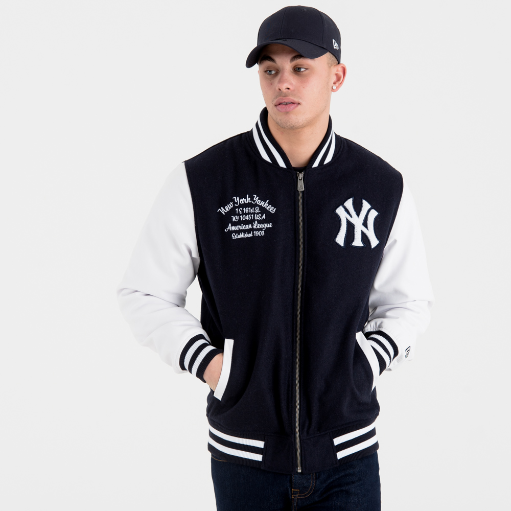 New York Yankees University Club Varsity Jacket
