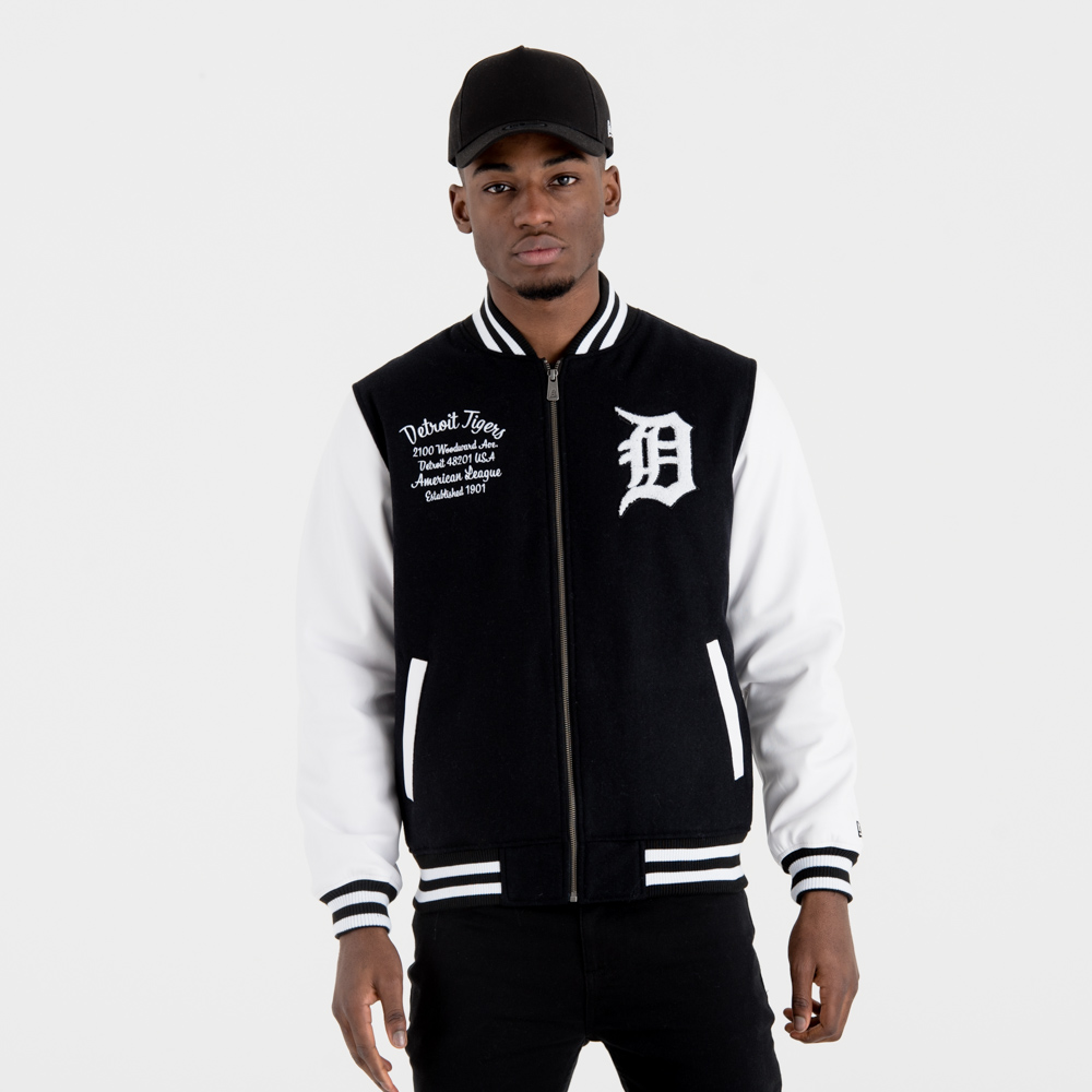 Detroit Tigers University Club Varsity Jacket