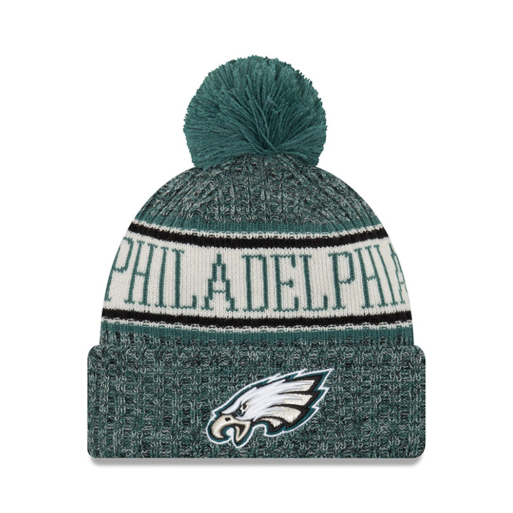 Philadelphia Eagles 2018 Sideline Bobble Cuff Knit