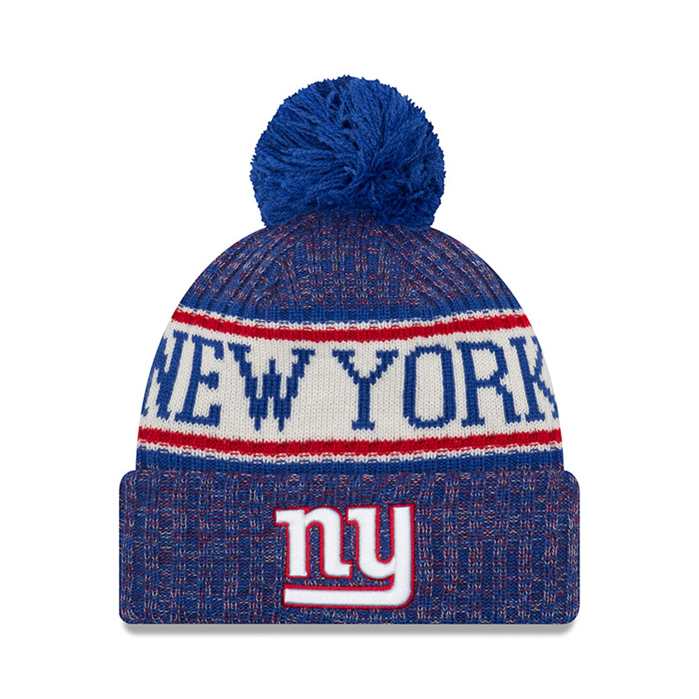 New York Giants 2018 Sideline Bobble Cuff Knit  44810492c8bb